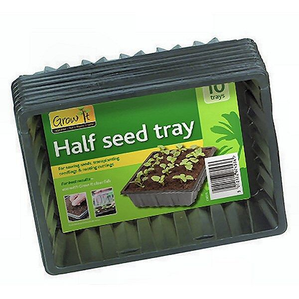Half Seed Tray Pack of 10