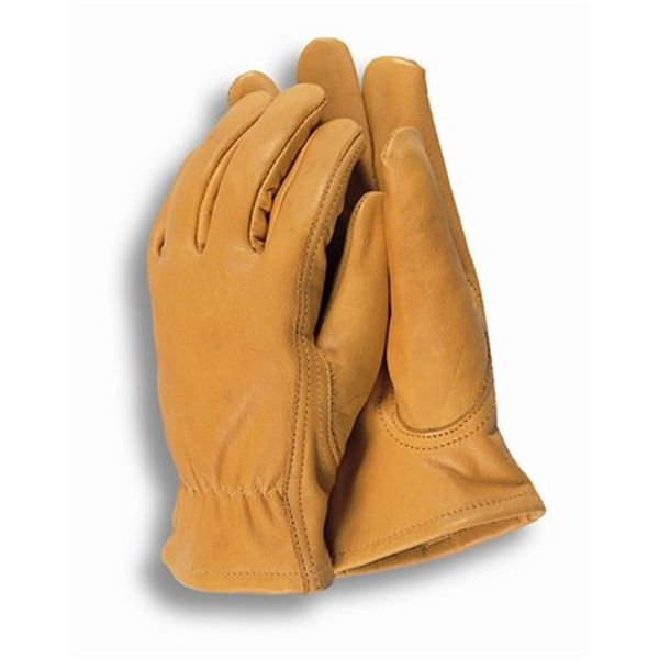 Premium leather mens gloves large