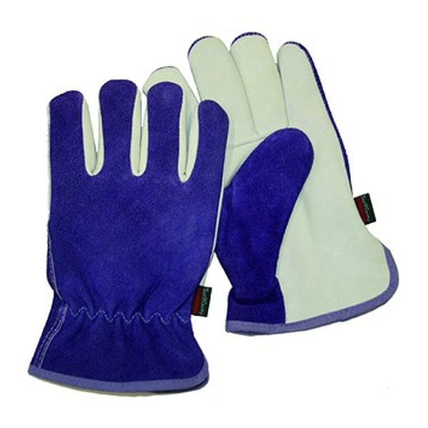 Premium Leather & Suede Ladies Gloves