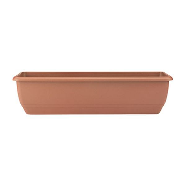 70cm Balconniere Trough Terracotta