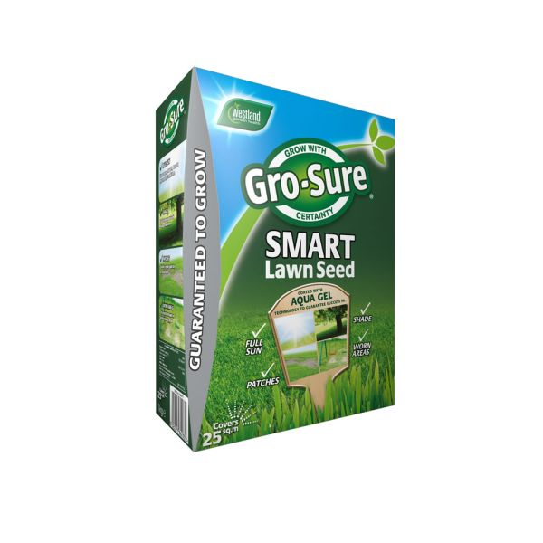 Gro-Sure Smart Lawn Seed 25sqm