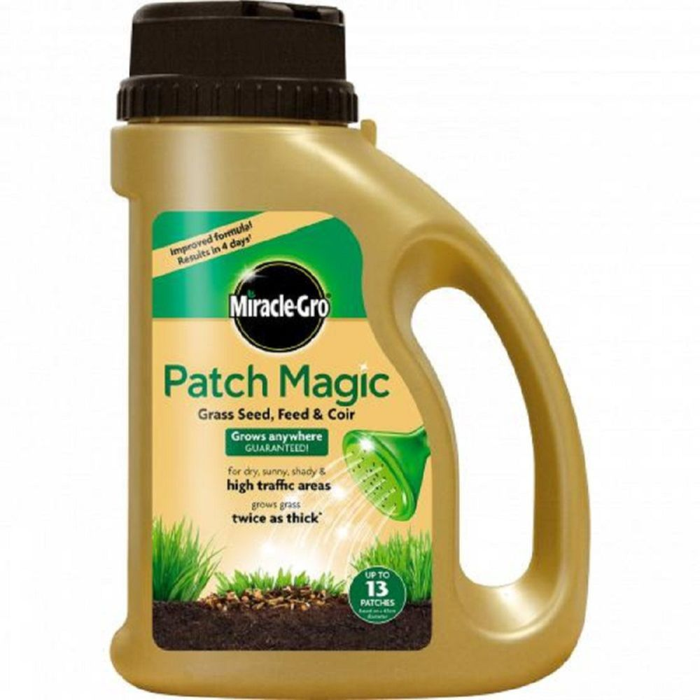 Miracle Gro Patch Magic Grass Seed Shaker 1kg