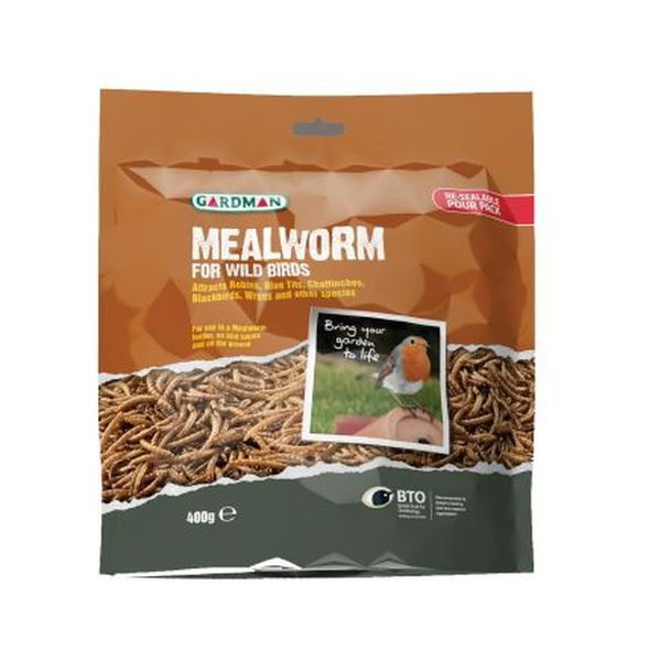 Mealworm 400g Pouch