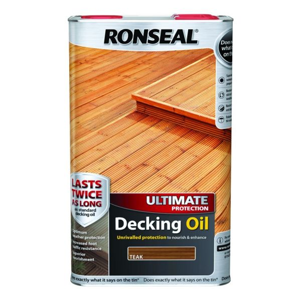 Ultimate Decking Oil Teak 5ltr