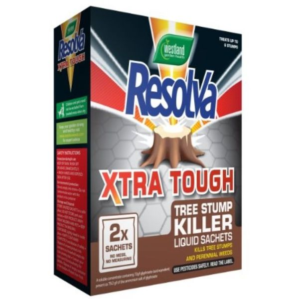 Resolva Xtra Tough Stump Killer Sachet 2x100ml