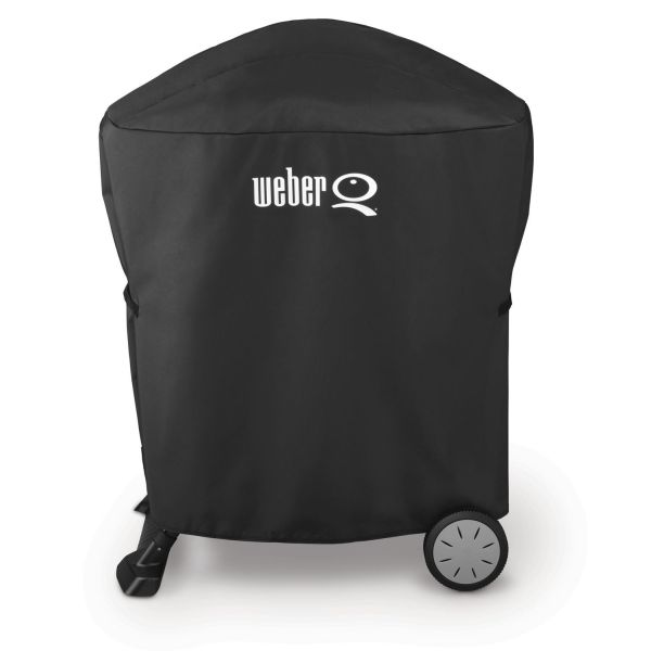 Grill Cover for Q Series with Rolling Cart