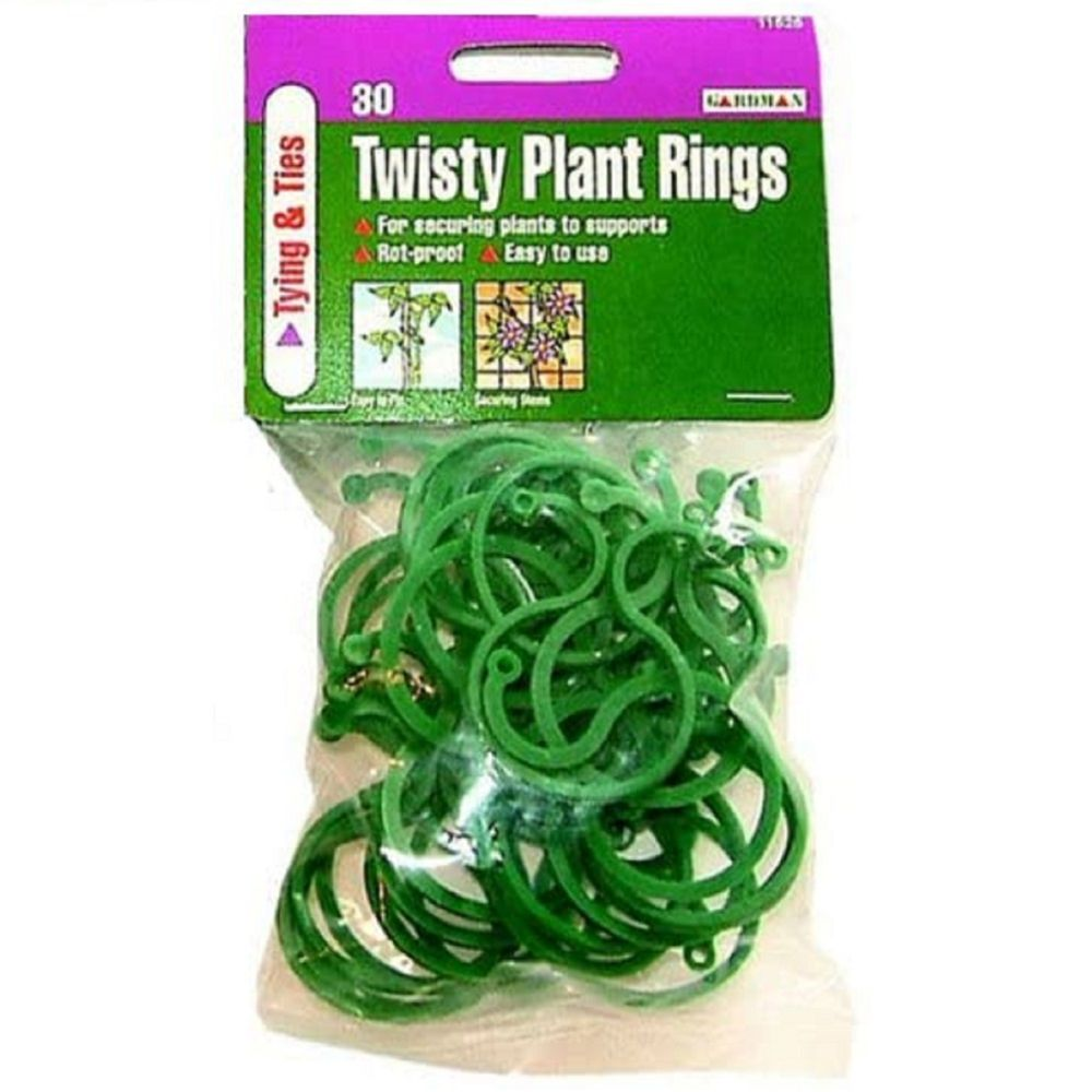 TWISTY PLANT RINGS