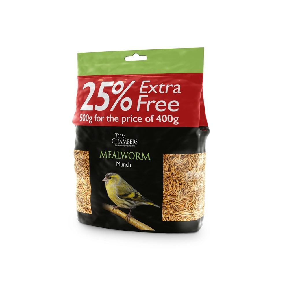 Mealworm Munch 400g + 25% FREE