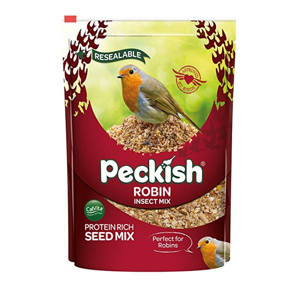 PK ROBIN SEED & INSECT MIX 2KG
