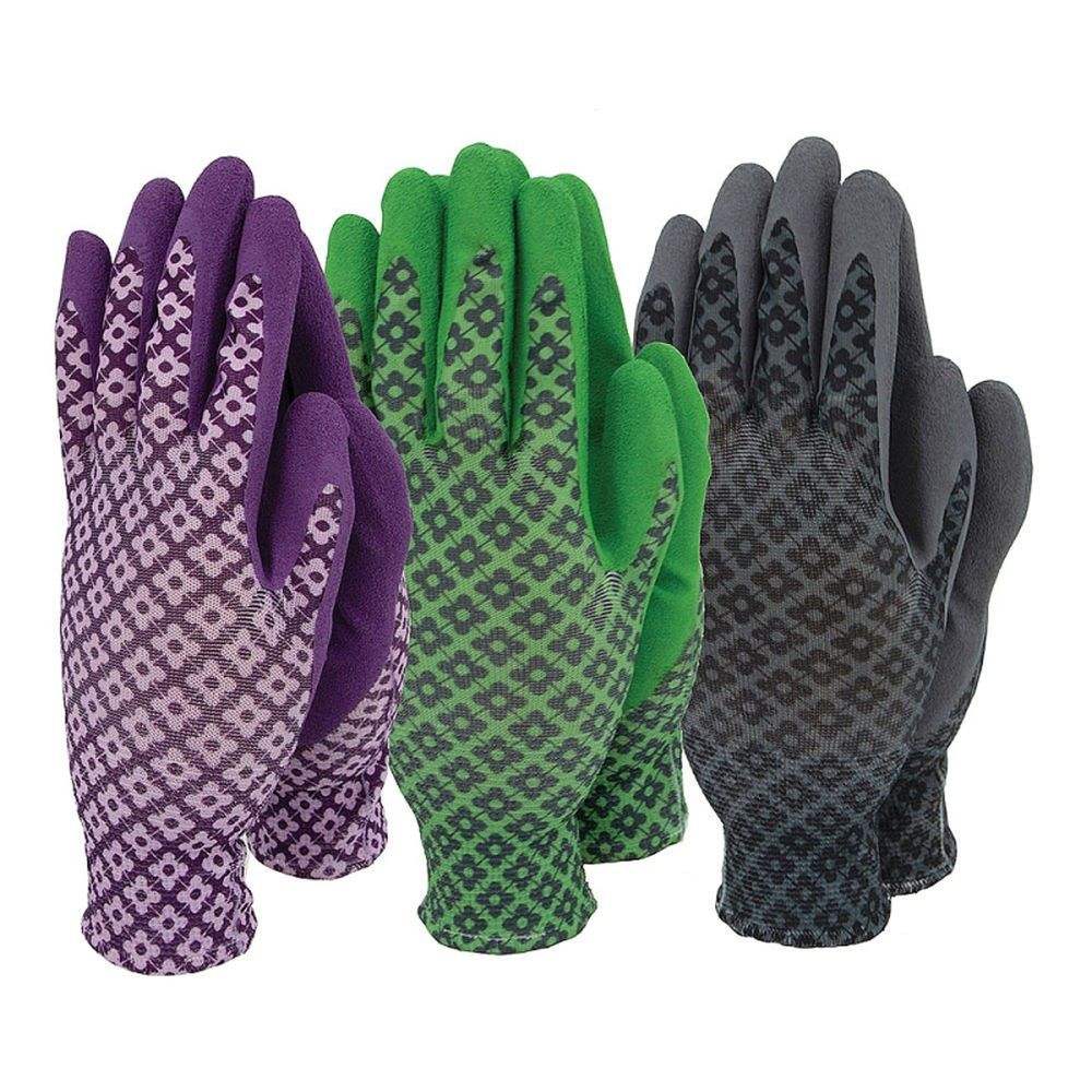 Ladies Flexigrip Triple Pack Gloves