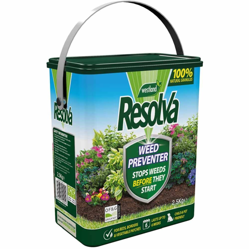 Resolva Weed Preventer 2.5kg Tub
