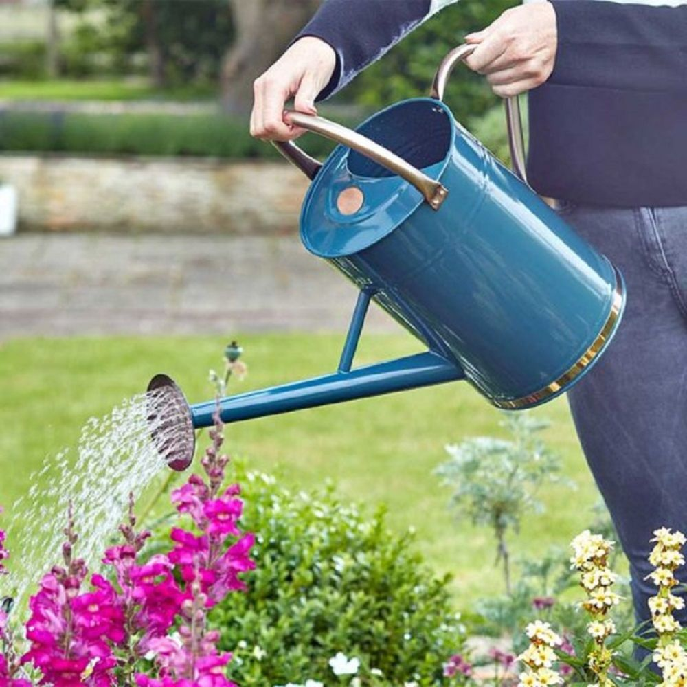 Watering Can Blue 9L