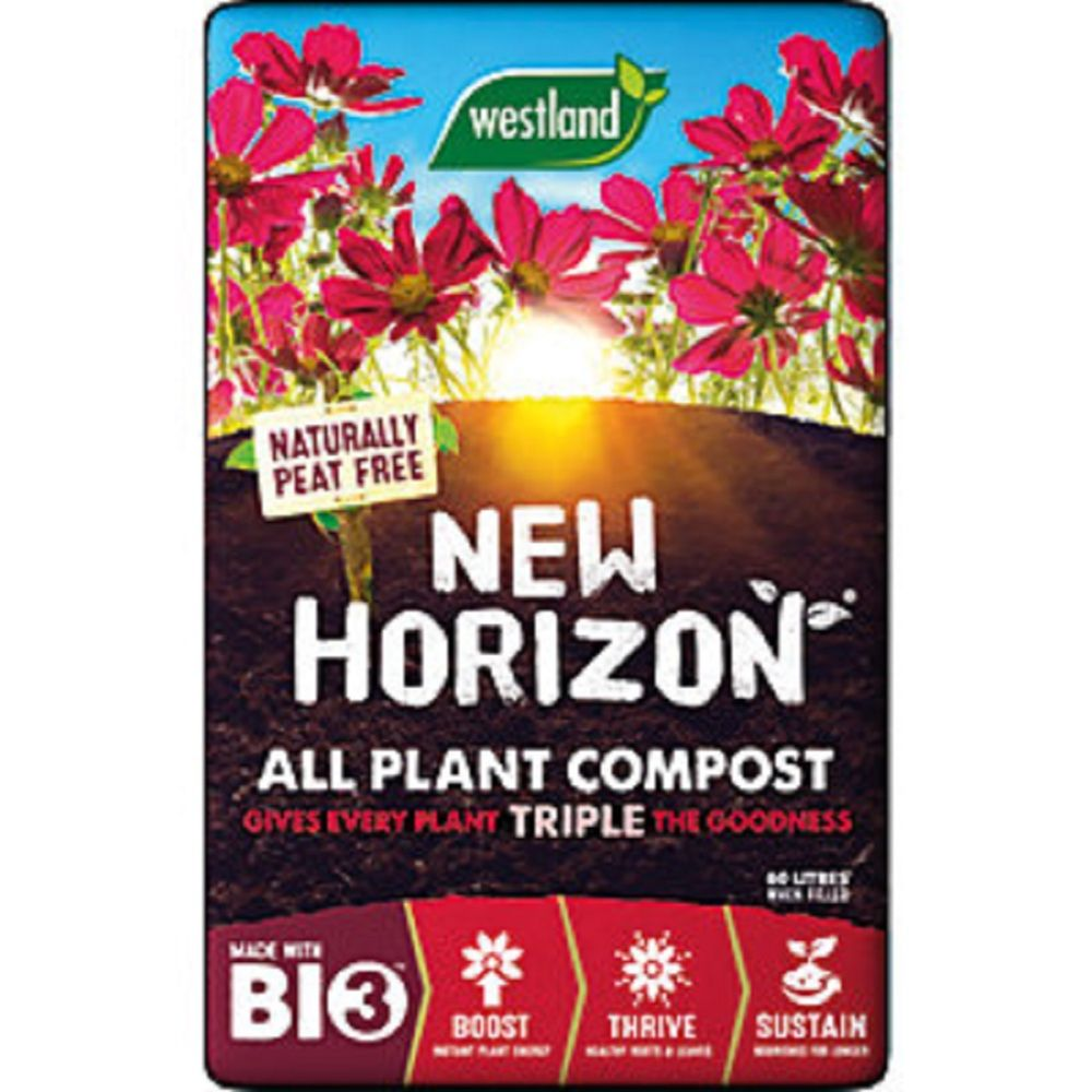 New Horizon All Plant Compost 40L + 25% Extra