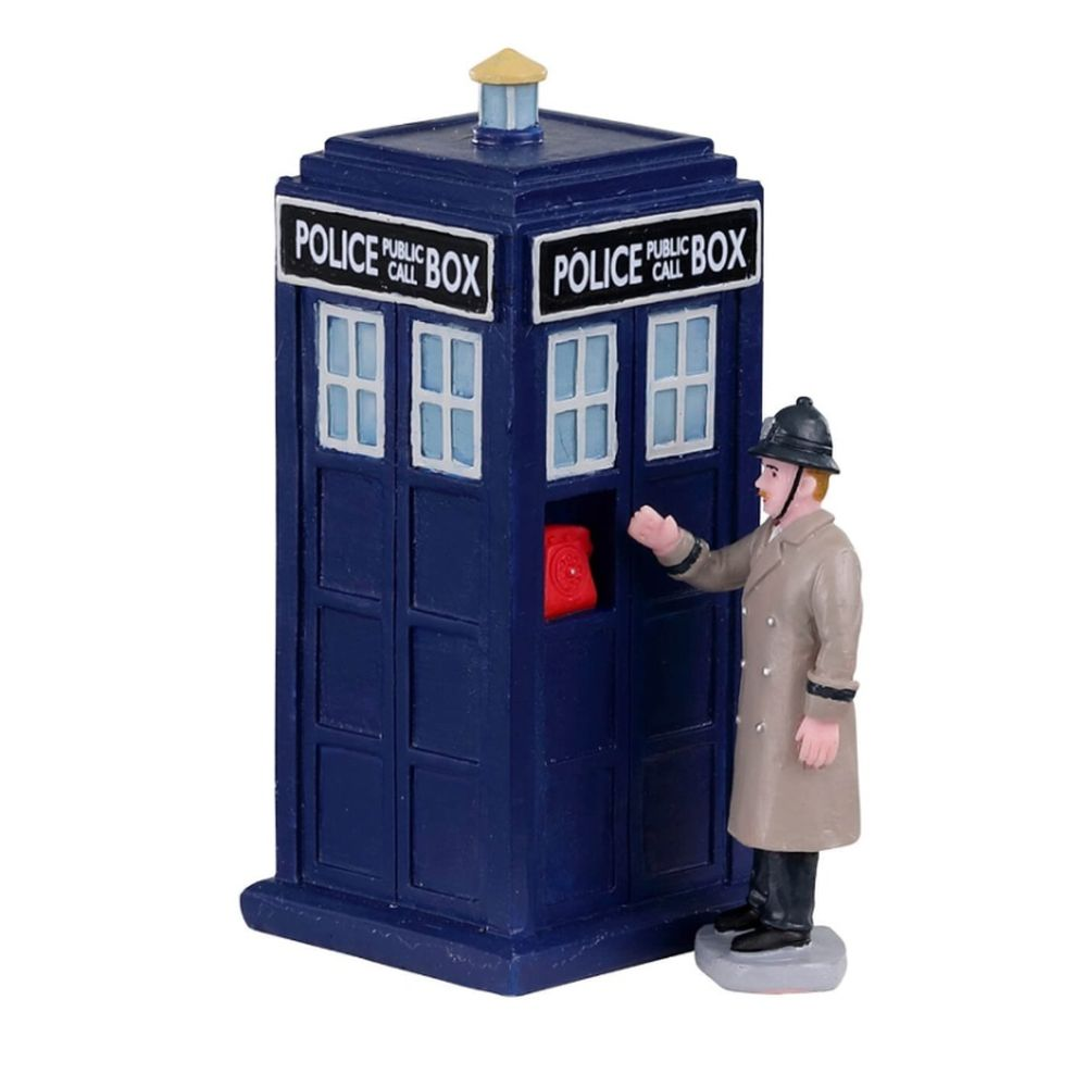 Police call box set of 2