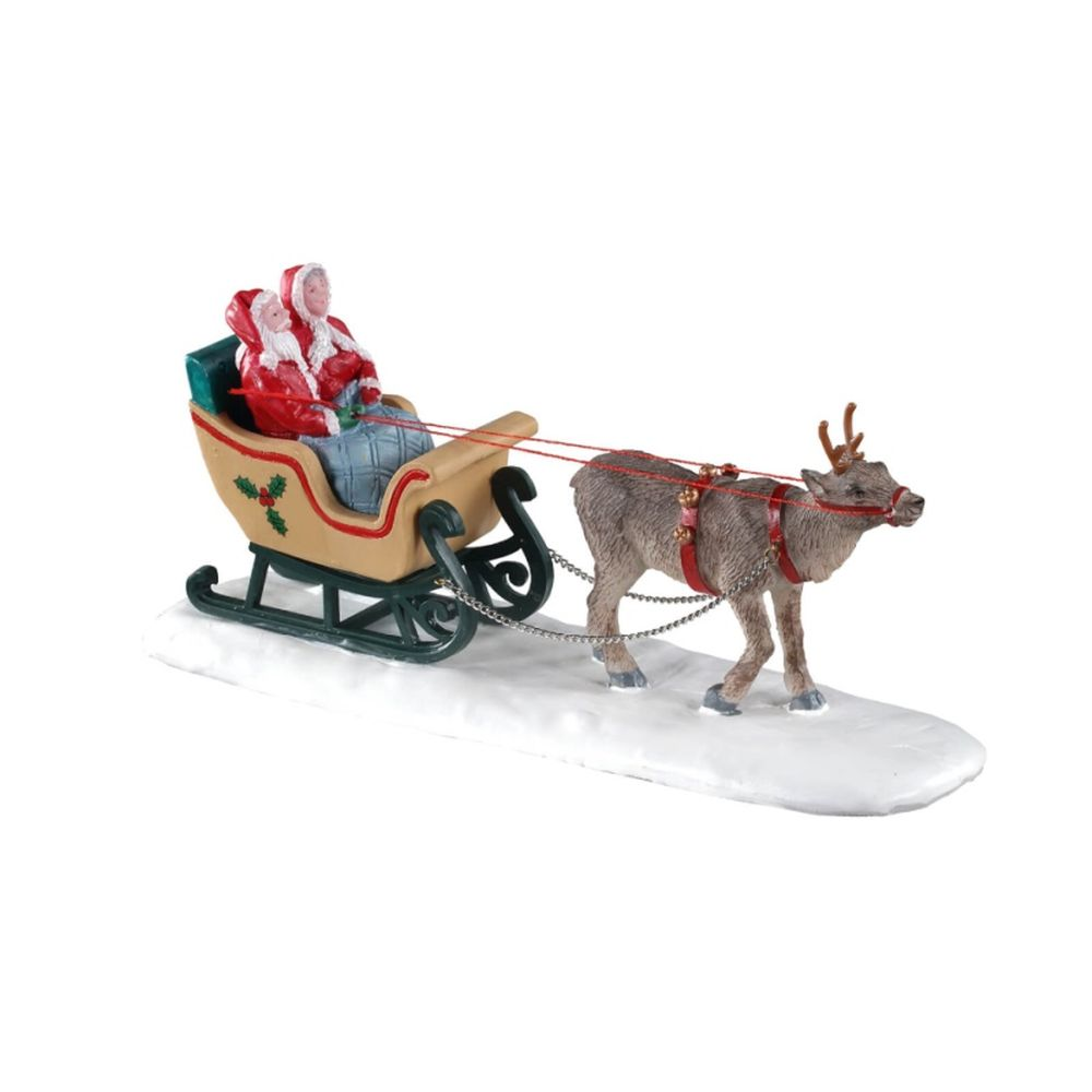 North pole sleigh ride