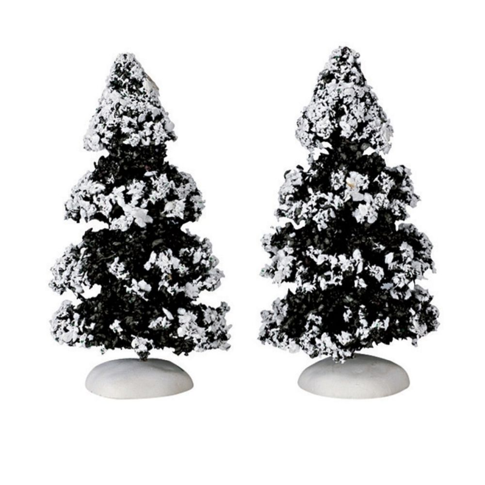 EVERGREEN TREE SET OF 2 SMALL
