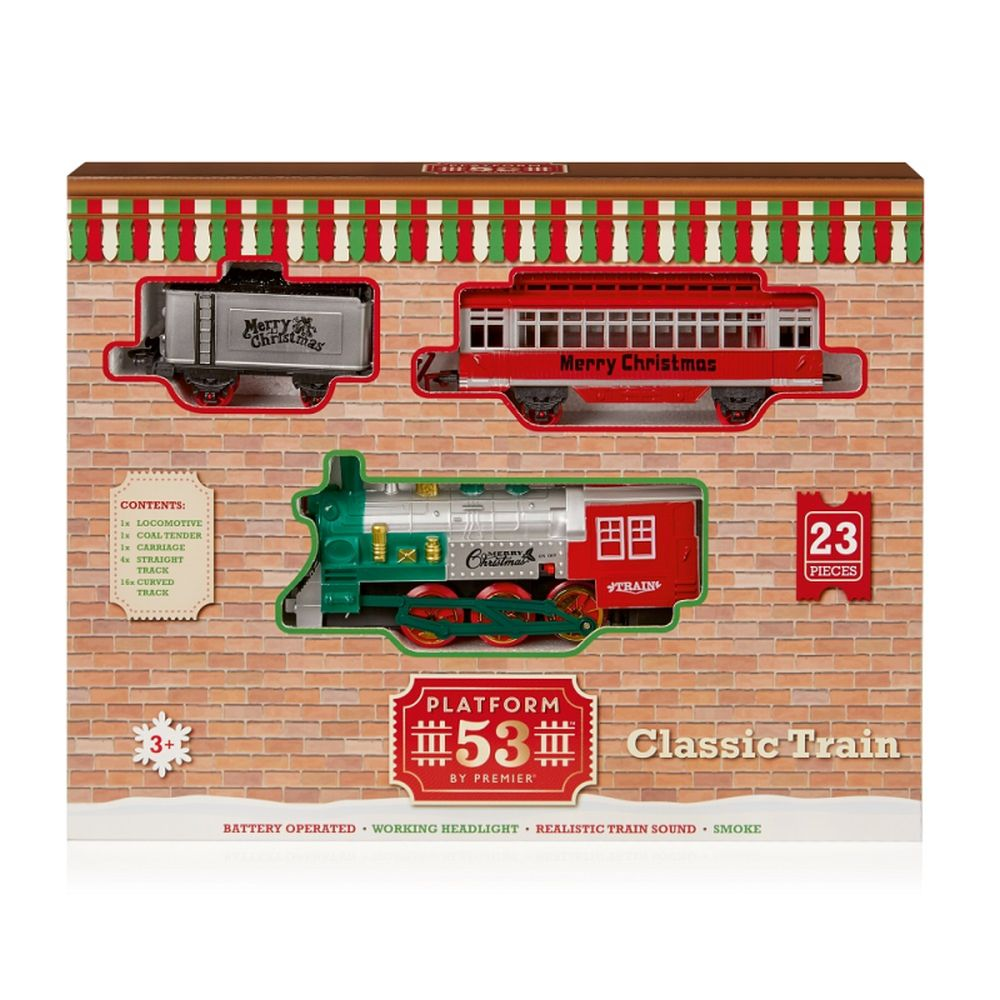23pc BO Xmas Train Set