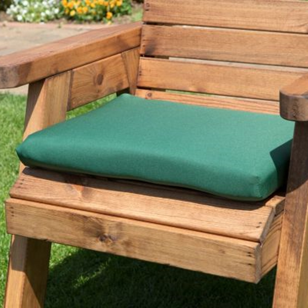 Balmoral Seat Cushion Green