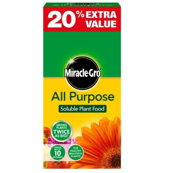 Miracle Gro All Purpose Plant Food 1kg + 20% Extra Free