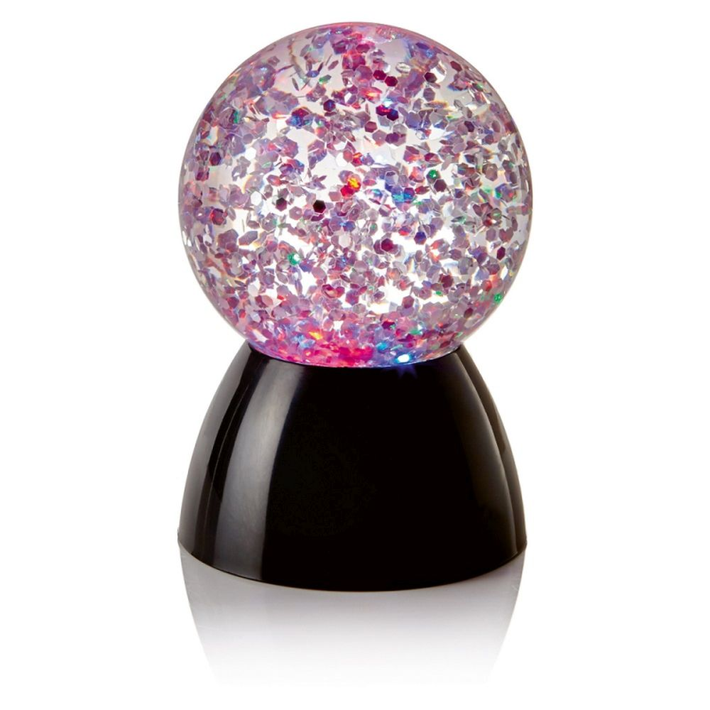 Glitter Ball with Colour 13cm