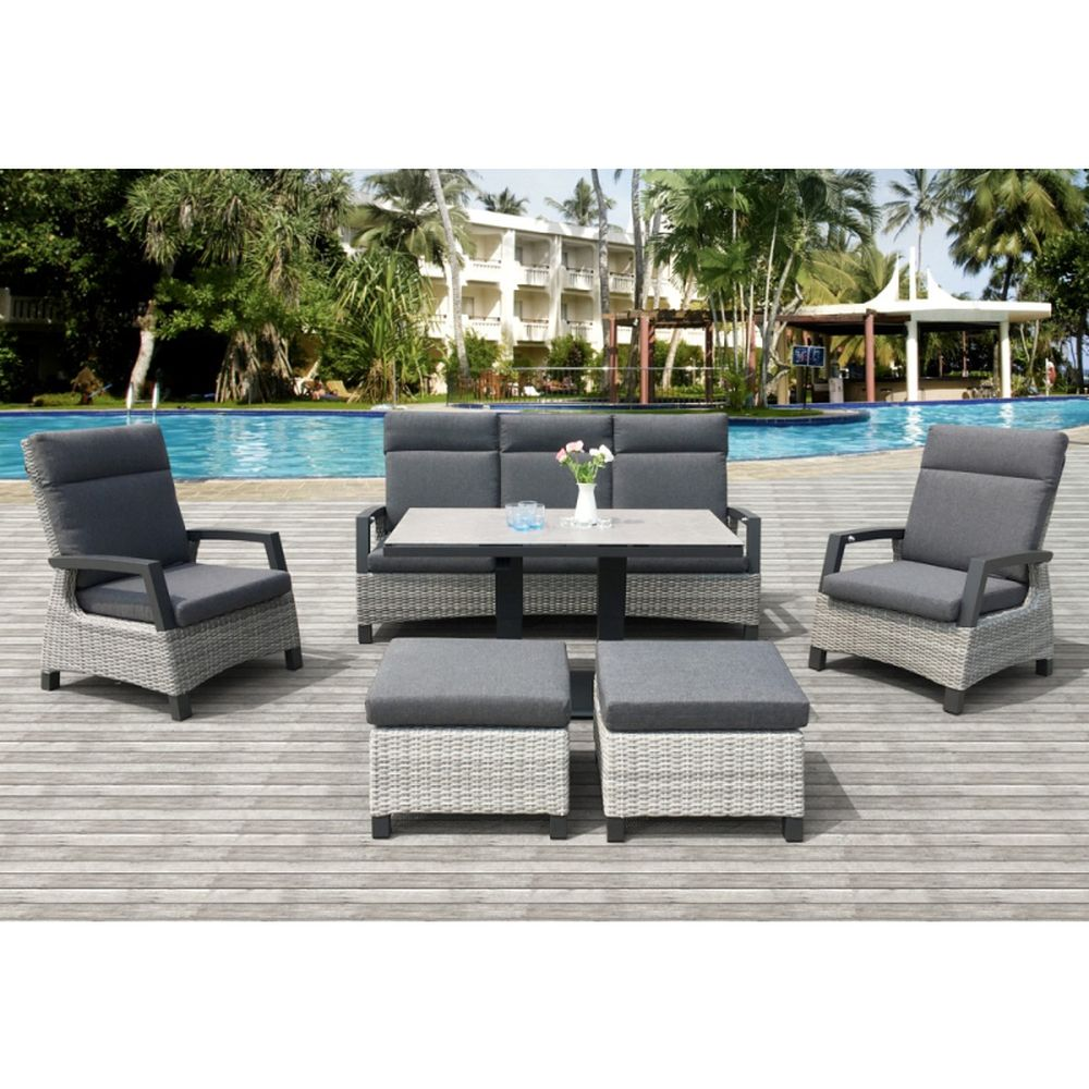 Clifford Lounge Dining Set