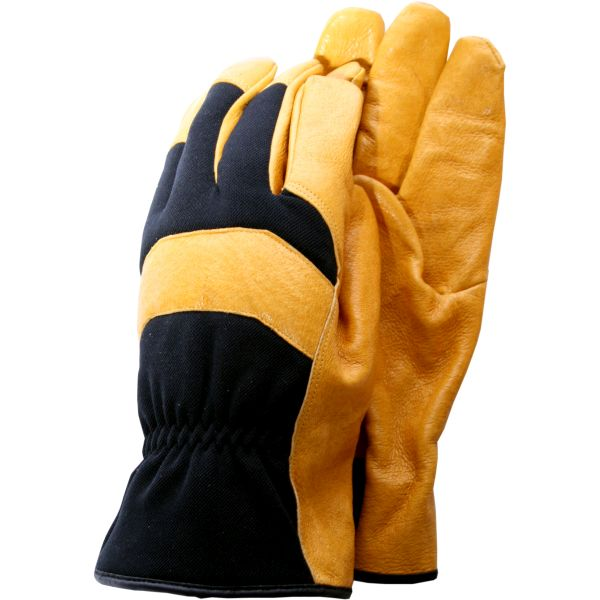 Deluxe Soft Leather Mens Gloves Large