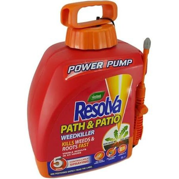 Resolva Path & Patio Power Pump 5ltr