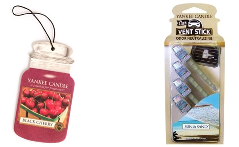Yankee candle car jars/vents